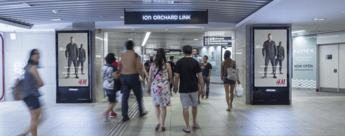 JC Decaux launches new digital signage network at Singapore