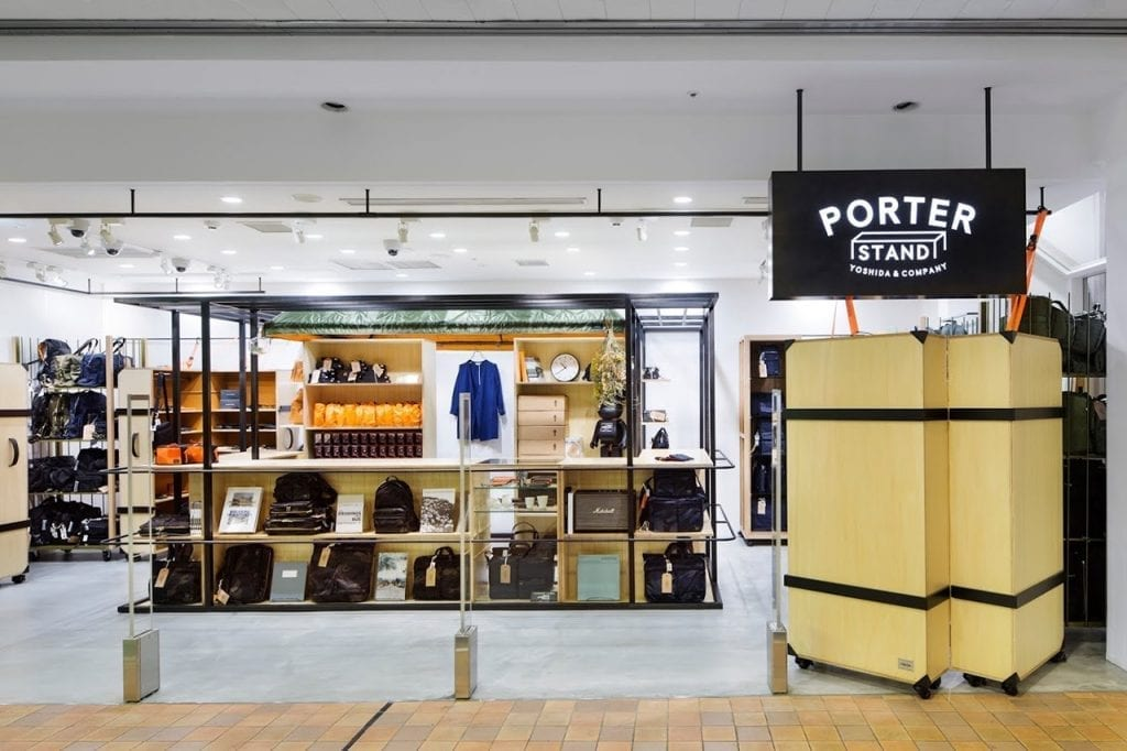 48b877854835 Porter Stand opens pop-up store in Osaka