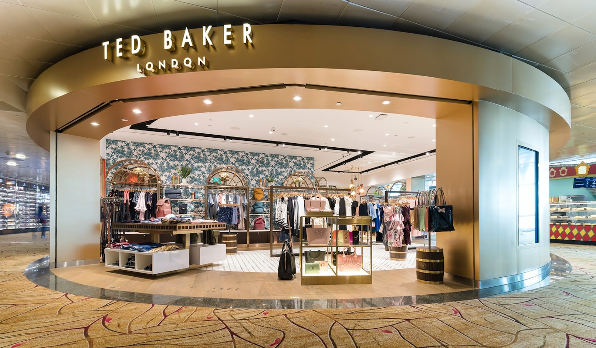 867478b7d3b4 Ted Baker Launches First-EverTravel-Retail Boutique In Changi Airport