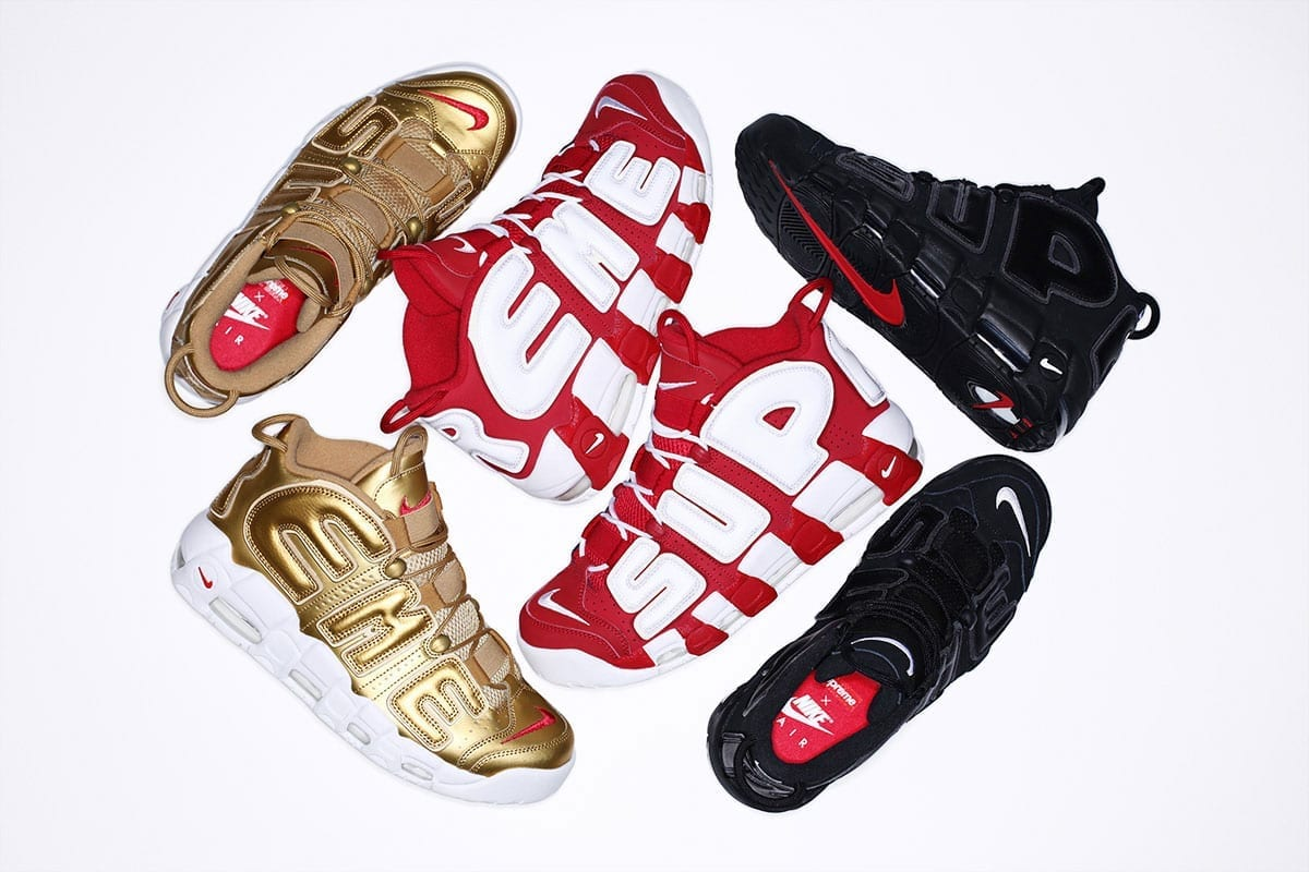 43cfe8bc97ad Supreme and Nike sneaker collaboration is launched