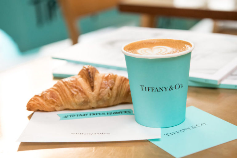 Breakfast at Tiffany's in Singapore pop-up store | Retail