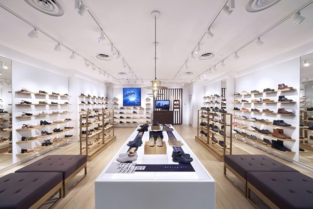 b7c55b273 Clarks Shoes new store design showcased in Singapore store