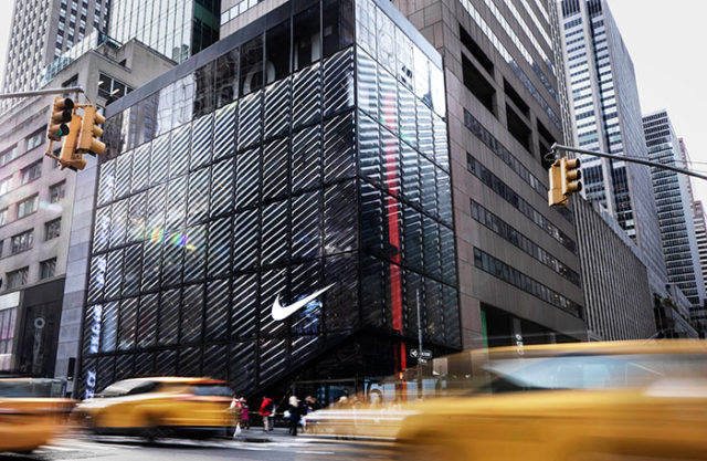 530ba62a0 Nike NYC features separate product floors for men