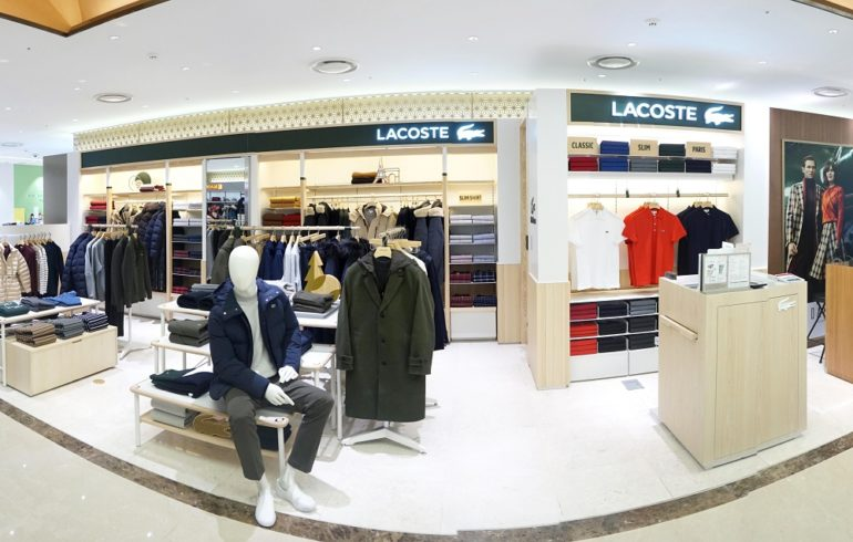 67c6eef4b604 Lacoste opens new travel retail store at Lotte Busan
