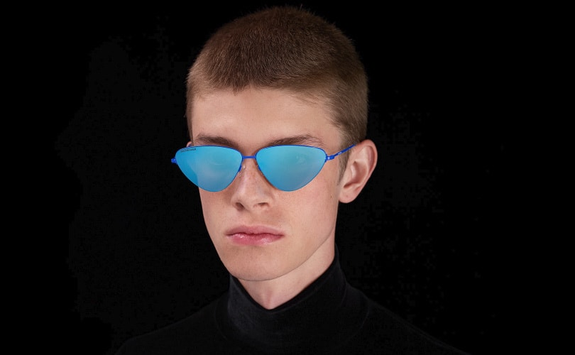 19a7ce42f9c Balenciaga launches first in-house eyewear line with Dover Street Market