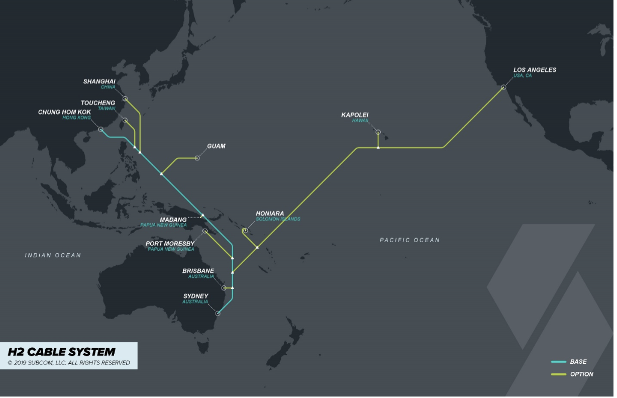 h2 cable to deploy new apac cable system